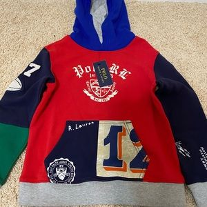 Toddlers Polo sweater with hood Very nice